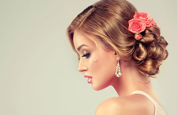 Updo Hair Styling Roseville CA